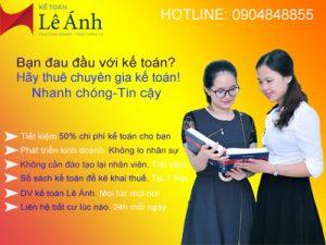 Dịch vụ số sách kế toán tại Hà Nội