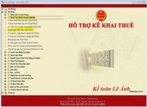 lâp tờ khai quyết toán thuế TNDN