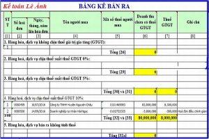 Hướng dẫn kê khai thuế trên phần mềm HTKK