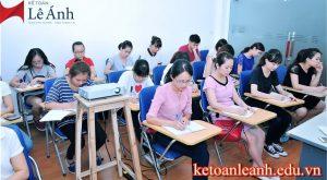 khóa học kế toán tổng hợp thực hành