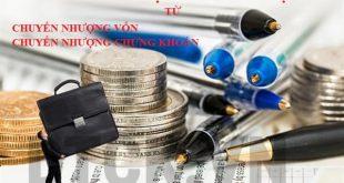 Thuế thu nhập doanh nghiệp chuyển nhượng vốn, chuyển nhượng chứng khoán