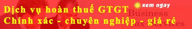 dịch vụ hoàn thuế gtgt