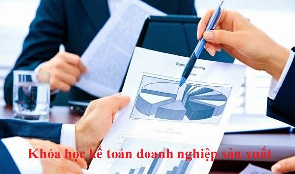 khóa học kế toán doanh nghiệp sản xuất
