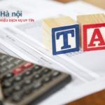Dịch vụ báo cáo thuế doanh nghiệp hàng đầu tại Việt Nam