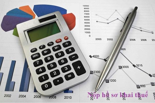 Nộp hồ sơ khai thuế