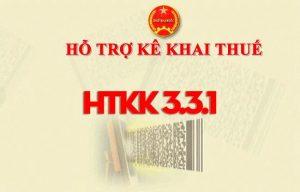 Phần mềm HTKK 3.3.1 mới nhất