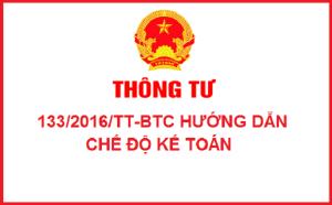 Thông tư 133/2016/TT-BTC